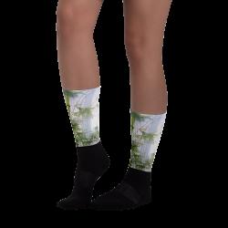 "Printed Socks  ""Evergreen Love"""