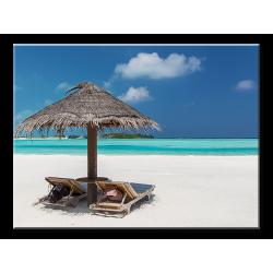 Beautiful Resort Beach - 1 panel L