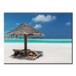 Beautiful Resort Beach - 1 panel L