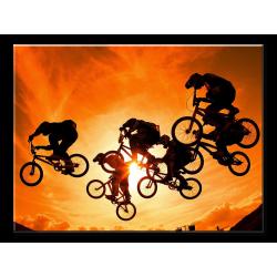BMX Sunset - 1 panel L