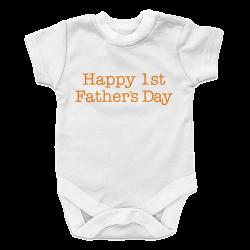 Happy 1st Father's Day- Boy