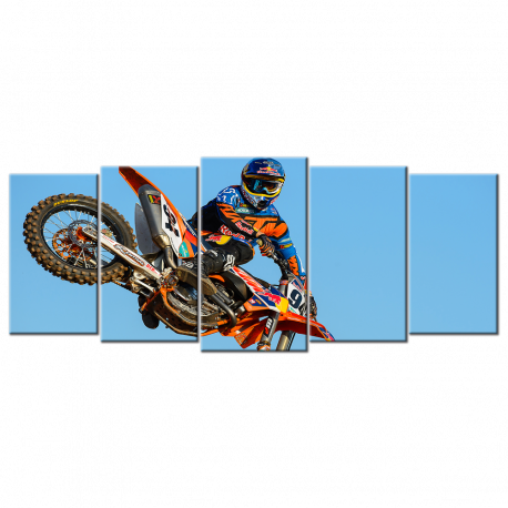 Motocross - 5 panels XL