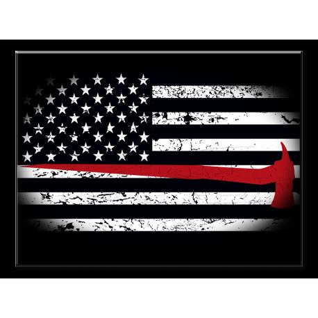 Firefighter Flag- 1 panel xl