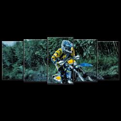Dirt Bike - 5 panels XL