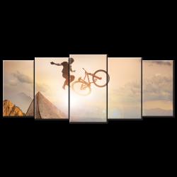 Limit The Bike - 5 panels XL
