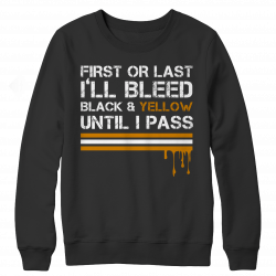 Limited Edition - Bleed Black & Yellow