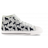 Dogs Solhouette - Mens Hightop