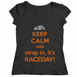 Keep Calm It's Raceday