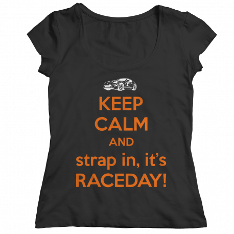 Keep Calm It's Raceday