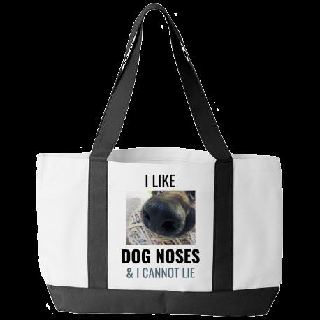 I Like Dog Noses & I Cannot Lie (Tote Bag)