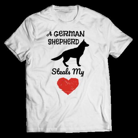 A German Shepherd Steals My Heart
