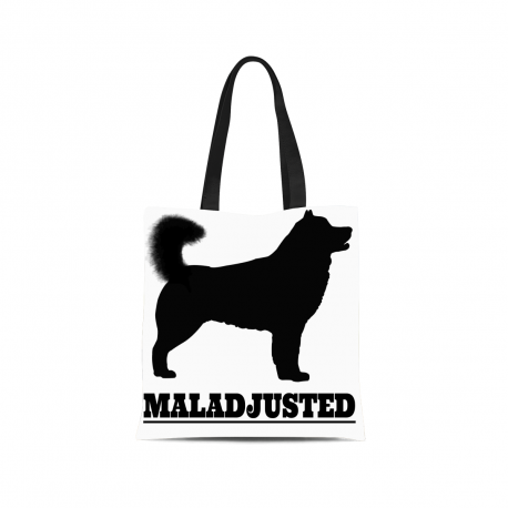 [TOTE BAG] Mal-Adjusted - For Alaskan Malamute Lovers