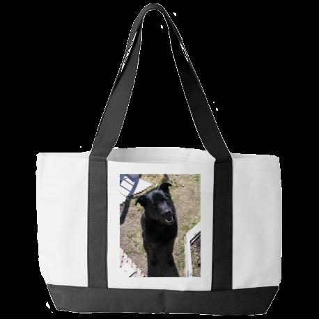Black Lab Tote Bag