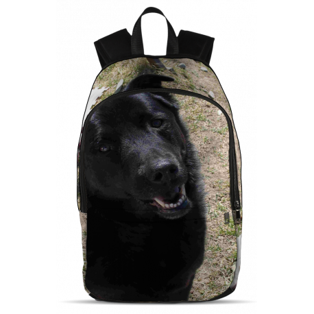 My Favorite Black Lab (Backpack)