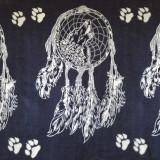 Husky Malamute Wolf Dreamcatcher Wall Art Square