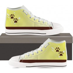 Brown Paws Womens Hightop