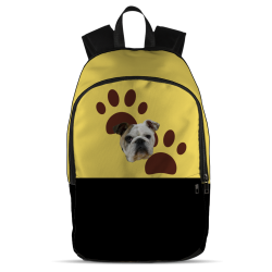 All Over Backpack - Yellow