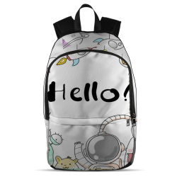 All Over Backpack - Hello