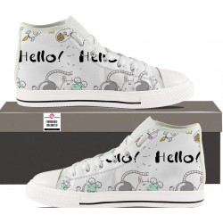 Womens Hightop - Hello