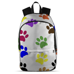 All Over Backpack - Paw Prints