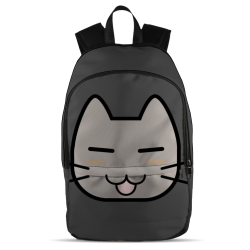 All Over Backpack - Grey Cat