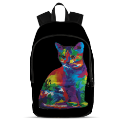 All Over Backpack - Colored cat