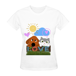 Classic Women T-Shirt - Love