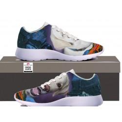 Womens Sneakers - White