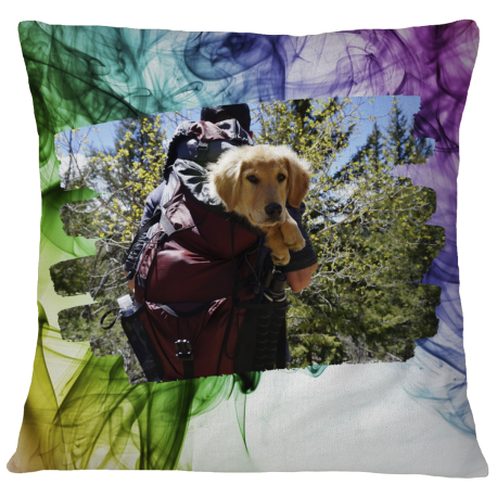 Pillow Case Cover -Hiking Buddy