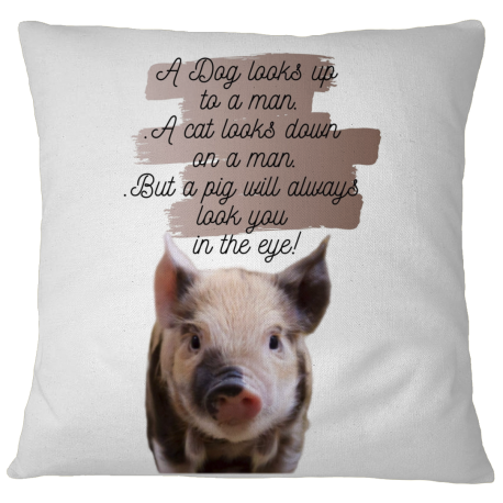 Pillow Case Cover - Pig