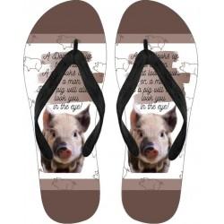 Flip Flops - Pig
