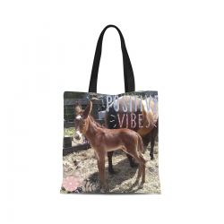 Canvas Tote Bag - Baby Mule