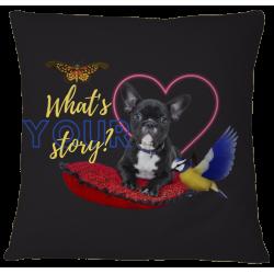 Pillow Case Cover - Bulldog Story