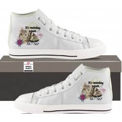 Womens Hightop - Monday Again