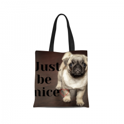 Canvas Tote Bag - Be Nice