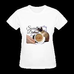 Classic Women T-Shirt - Socially Distant 2020