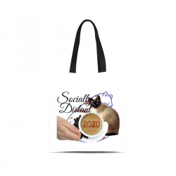 Canvas Tote Bag - Socially Distant 2020