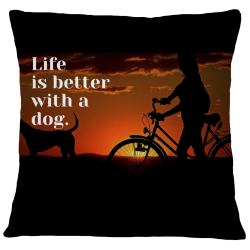 Pillow Case Cover - Life is Better