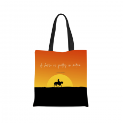 Canvas Tote Bag - Poetry