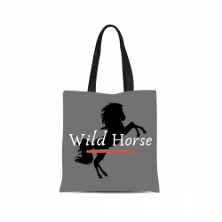 Canvas Tote Bag - Wild Horse