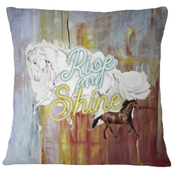 Pillow Case Cover - Rise and Shine