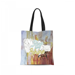 Canvas Tote Bag - Rise and Shine