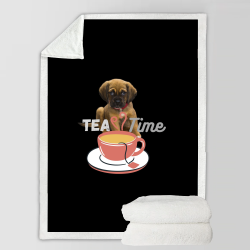 Fleece Blanket - Tea Time