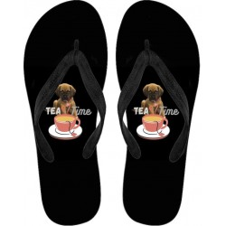 Flip Flops - Tea Time