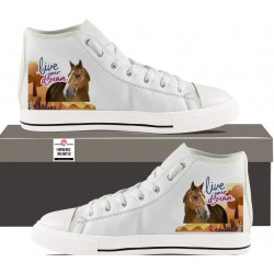 Womens Hightop - live your dream