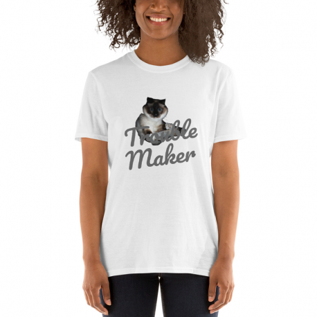 Trouble Maker Short-Sleeve Unisex T-Shirt