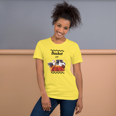 Basket of Love Short-Sleeve Unisex T-Shirt