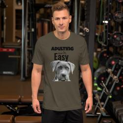 Adulting Short-Sleeve Unisex T-Shirt