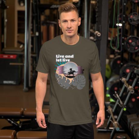 Let Live Short-Sleeve Unisex T-Shirt