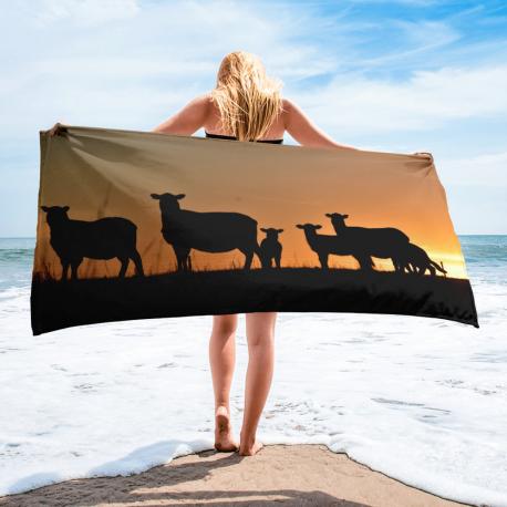 Silhouette Towel